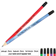 Drug Free, Smoke Free, Totally Free Mood Pencil