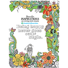 Doodle Inspirations Adult Coloring Book