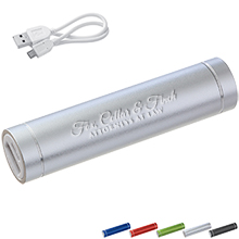 Bolt Aluminum Power Bank, 2200mAh