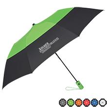 """Color Top Folding Umbrella, 46"""" Arc"""