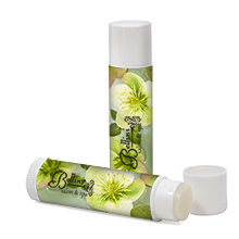 All Natural Lip Balm in White Tube