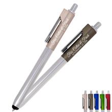 Ambient Metallic Click Pen Stylus