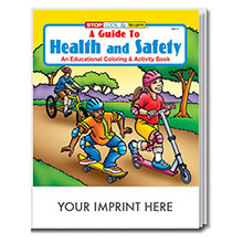 Health & Safety Coloring & Activity Book