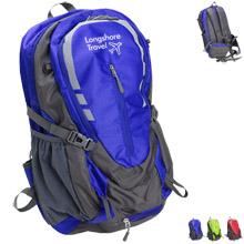 Alpine Hiking Nylon Backpack 35L w/ Rain Cover