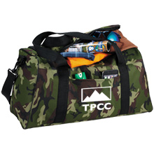 "Camo Hunt 18"" Polycanvas Duffel Bag"