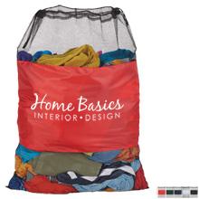 Mesh Laundry Polyester Cinch Bag
