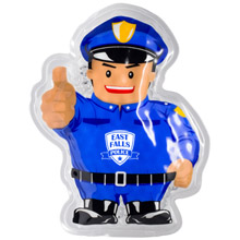 Police Officer Aqua Pearls Hot/Cold Pack
