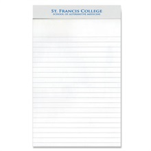 "Legal Pad with Imprinted Header, 5"" x 8"""