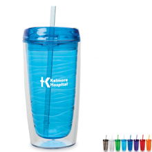 Bayamo Hot/Cold Tumbler, 16oz. - Free Set Up Charges!