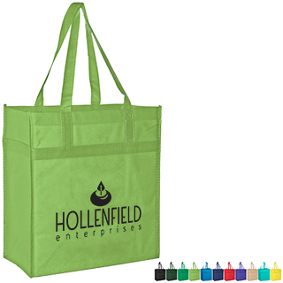 Heavy Duty Non-Woven Grocery Bag with Poly Board Insert