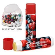 Mega Assortment Premium Lip Balm SPF-15 w/ Countertop Bubble