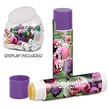 Fruit Assortment Premium Lip Balm SPF-15 w/ Countertop Bubble