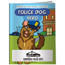 Police Dog Hero Coloring & Activity Book