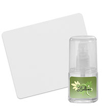 Lens & Electronics Cleaner Spray with Microfiber Cloth, 1oz.