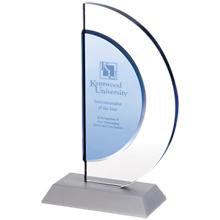 "Indigo Crescent Award, 8-1/4"""