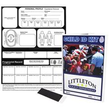 Custom Police Child ID Safety Kit