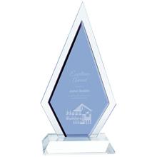 """Duo Diamond Crystal Award, 9-3/4"""""""