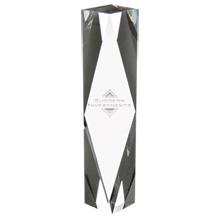 "Dramatis Crystal Award, Medium, 9-3/4"""