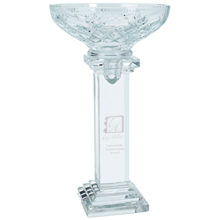 Blazek Glass® Conquest 24% Lead Crystal Award, 10-3/8""