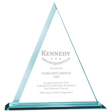"""Delta Jade Glass Award, 11-1/2"""""""
