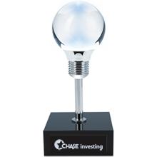 """Bright Idea Crystal Award, 8-5/8"""""""