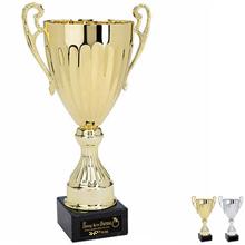 "Cascading Steel Award Trophy, Medium, 14"""
