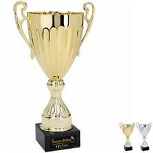 "Cascading Steel Award Trophy, Large, 17"""