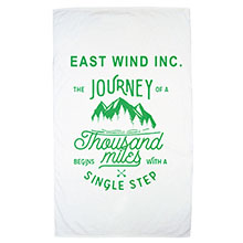 Express White Heavy Weight  Beach Towel, 19 lbs.