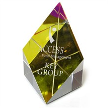 Prism Rainbow Glass Tower Award, Small, 3""