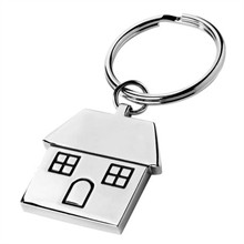 House Shaped Keytag