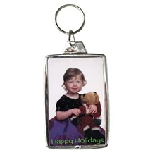 Snap-In Keytag with 2 Shots