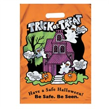 Reflective Halloween Treat Bag, Stock
