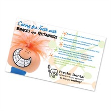 Healthy Message Magnet™­, Caring for Teeth
