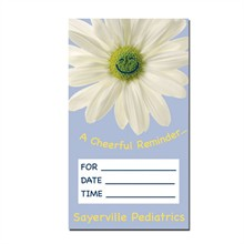 Appt. Reminder - Vertical Design Full Color Magnet