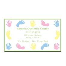 Baby Hand & Footprints Design Full Color Magnet