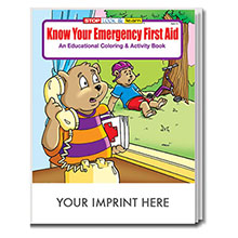 Know Your Emergency First Aid Coloring & Activity Book