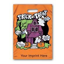 Reflective Halloween Bag - Orange, House Design