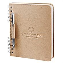 "Cardboard Journal, 100% Recycled, 6"" x 7-1/2"""