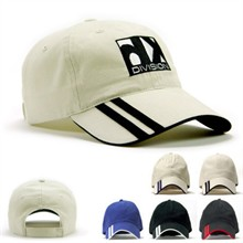 Double Stripe Cap w/ Velcro Closure