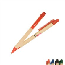 Eco-Green Paper Barrel Pen