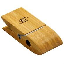 Bamboo Memo Clip