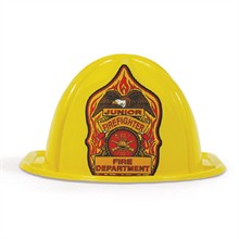Stock Junior Firefighter Hat, Yellow