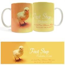 Baby Chick Design, Full Color Stoneware Mug, 11oz.