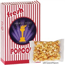 Caramel Popcorn Box