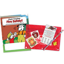 Flash's Fire Safety Classroom Kit, Stock