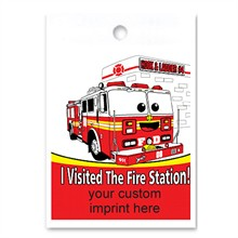Custom Litterbag, I Visited The Fire Station