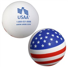 Patriotic Ball Stress Reliever
