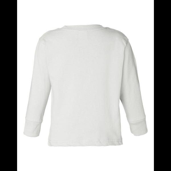 Rabbit Skins® Cotton Long Sleeve Toddler T-Shirt
