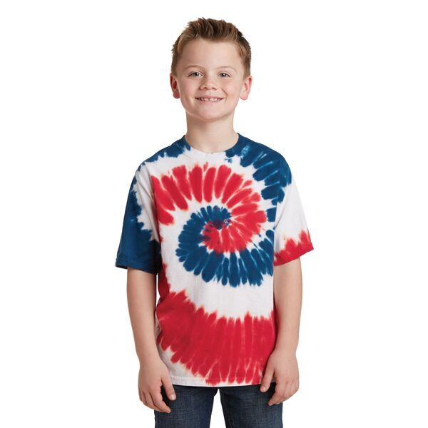 Port & Company® Essential Tie-Dye Youth Tee