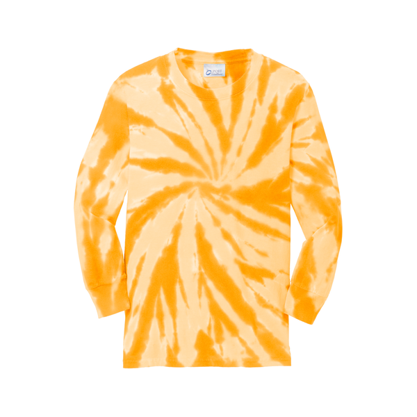 Port & Company® Essential Tie-Dye Youth Long Sleeve Tee